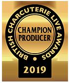 British Charcuterie Live Awards - Champion Producer 2019